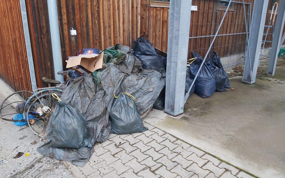 Viel Müll beim Rama Dama